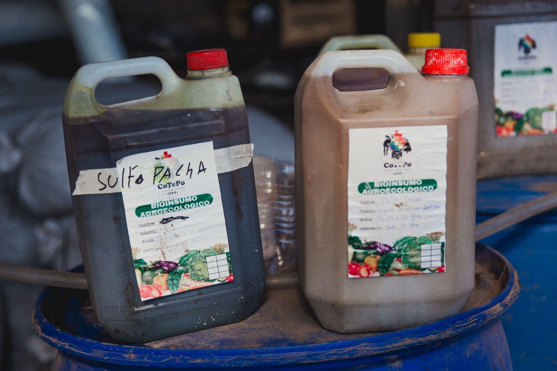 Los bioinsumos utilizados en producciones agro u orgánicas.